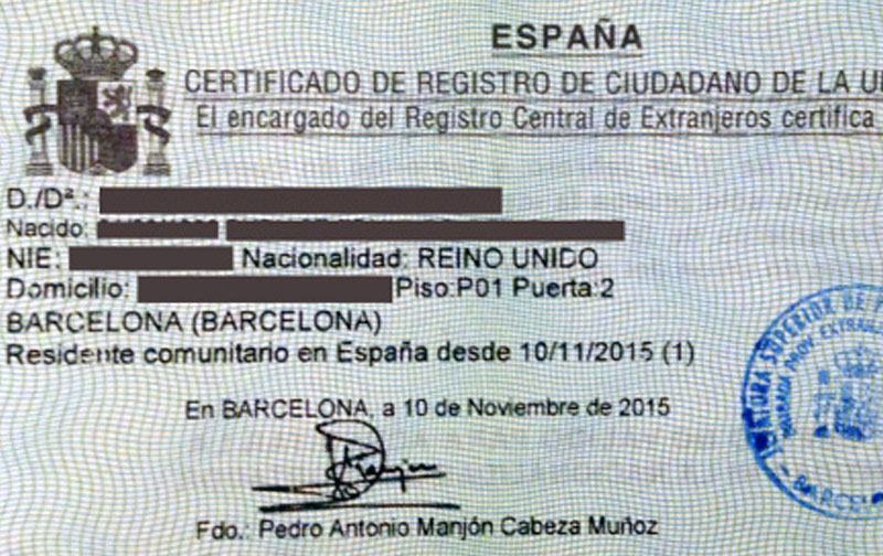 How to get your NIE number in Barcelona, Spain