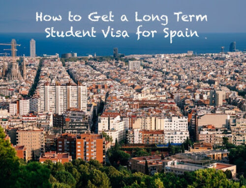 How to get a long term student visa for Spain – by Christine Jacob